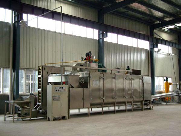 continuity roasting machine