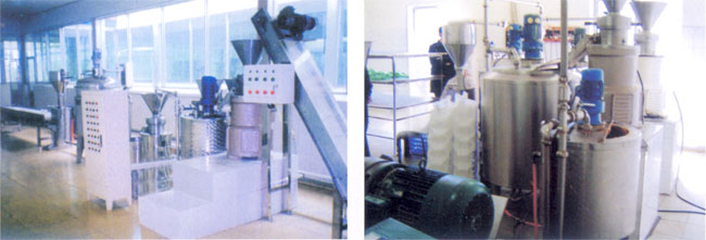 Peanut Butter Processing Product Line